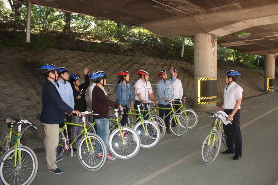 자전거이용 안전수칙 교육실시