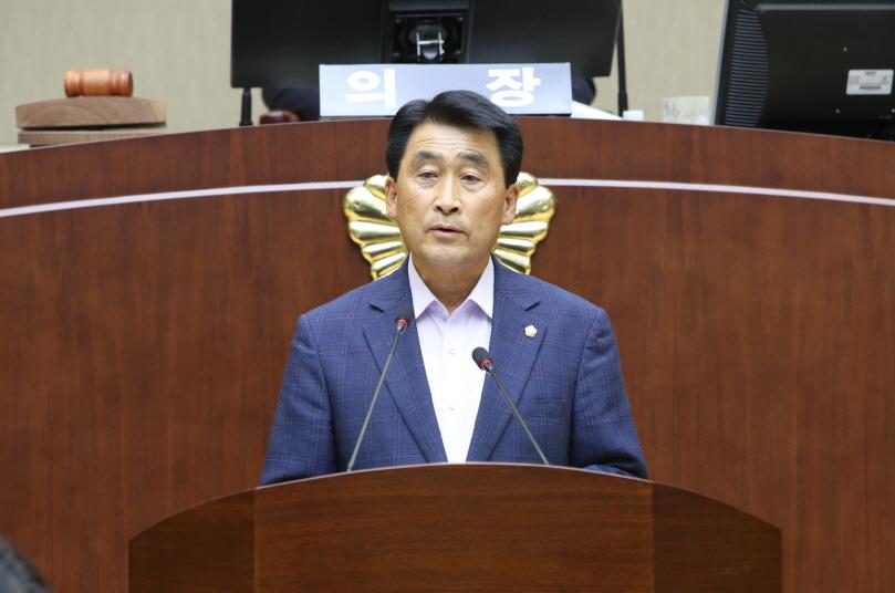 제 261회 임시회 구정질문 - 오준섭 의원 (성현동, 청림동, 행운동)