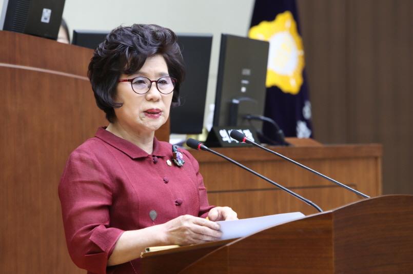 제 261회 임시회 구정질문 - 곽광자 의원 (청룡동, 중앙동)