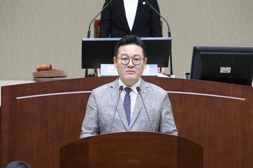 제 261회 임시회 구정질문 - 서홍석 의원 (신사동, 조원동, 미성동)