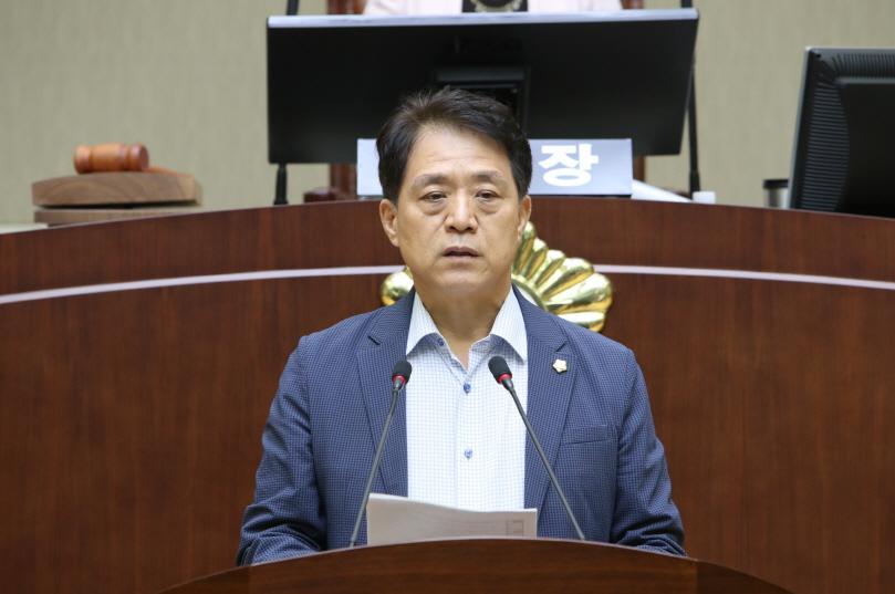 제 261회 임시회 5분 자유발언 - 표태룡 의원 (성현동, 청림동, 행운동)
