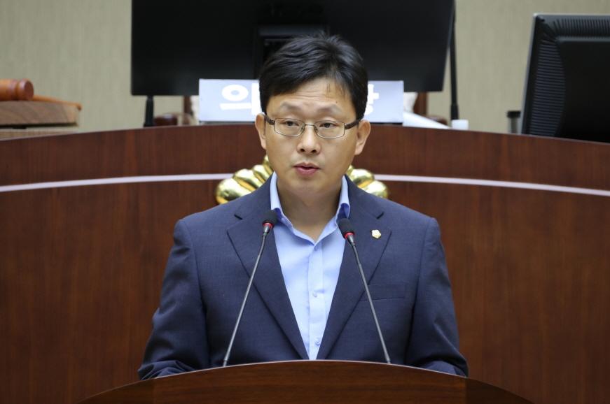 제 261회 임시회 5분 자유발언 - 이종윤 의원 (서원동, 신원동, 서림동)
