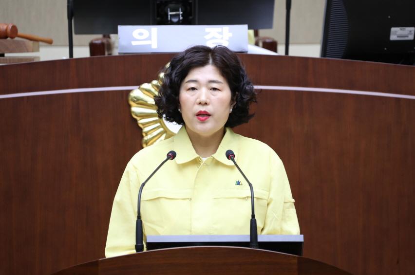 제 267회 정례회 5분발언 - 김순미 의원 (비례대표)