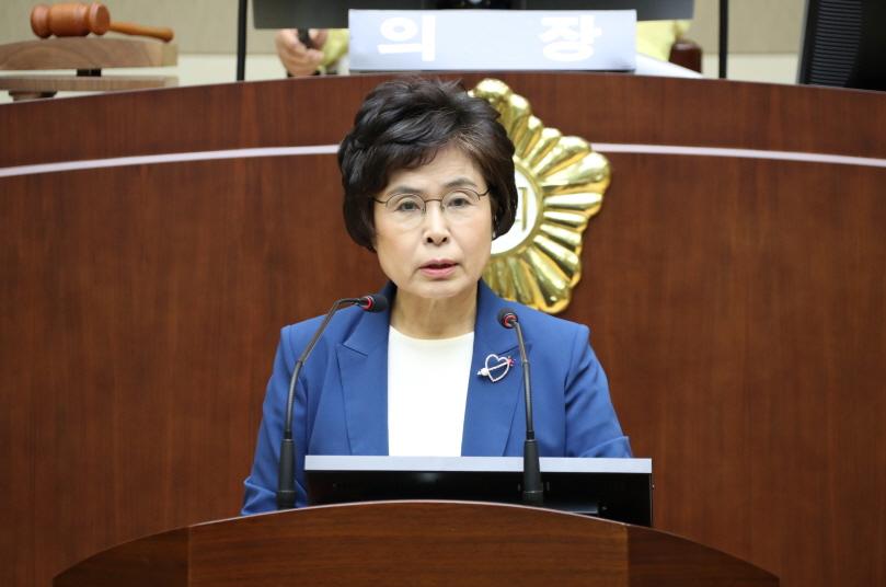제 267회 정례회 구정질문 - 이성심 의원 (청룡동, 중앙동)