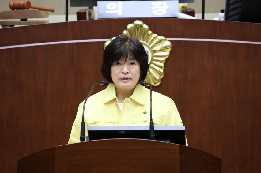 제 267회 정례회 구정질문 - 박영란 의원 (신사동, 조원동, 미성동)