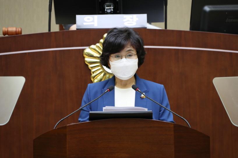 제 278회 임시회 5분발언 - 이성심 의원(청룡동, 중앙동)